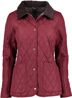 BARBOUR Steppjacke Montrose bordeaux