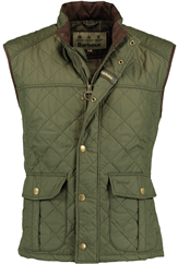 BARBOUR Explorer Gilet Steppweste oliv