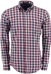 GANT Button-Down Hemand rot blau kariert