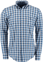 GANT Button-Down Hemd blau kariert