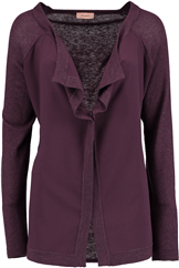 TRIANGLE Strickjacke violett