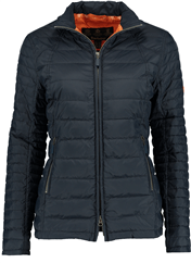 BARBOUR Chock Quilt Steppjacke navy