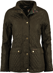 BARBOUR Steppjacke oliv