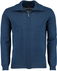 MAERZ Strickjacke Zip blau