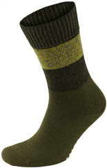 FALKE Mixed Stripe Socke gruen