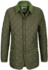 BARBOUR CHIP Steppjacke gruen