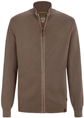 camel active Strickjacke braun