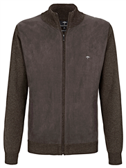 FYNCH HATTON Strickjacke braun