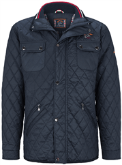 DAVID WILYMS Steppjacke marine