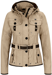 Da.-Wellensteyn Sommer Jacke Chocolate sand