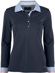 BRAX FEEL GOOD Langarm-Poloshirt Cecille