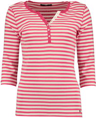 BRAX FEEL GOOD Claire Sweatshirt pink gestreift