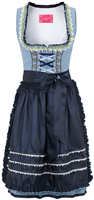 KR�GER MADL Mini Dirndl blau Cheerful
