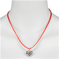 LUISE STEINER Tabby Collier Kette rot
